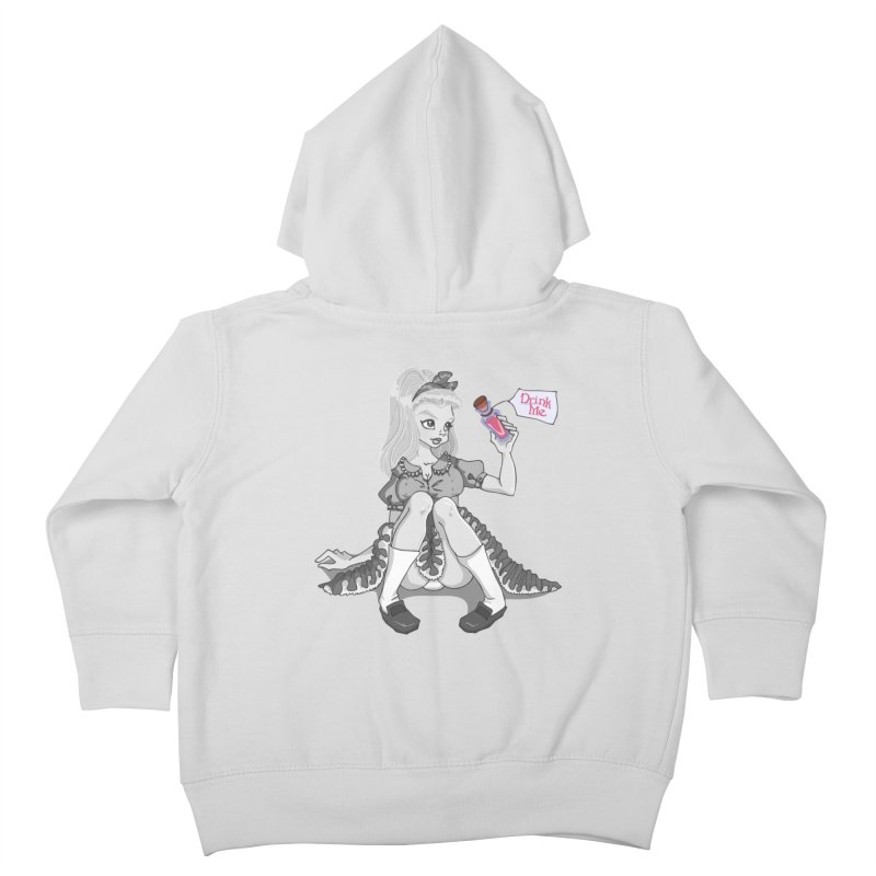 Alice Kids Toddler Zip-Up Hoody by anishacreations's Artist Shop