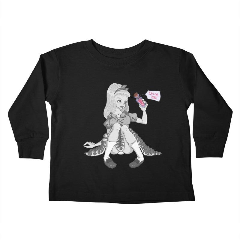 Alice Kids Toddler Longsleeve T-Shirt by anishacreations's Artist Shop