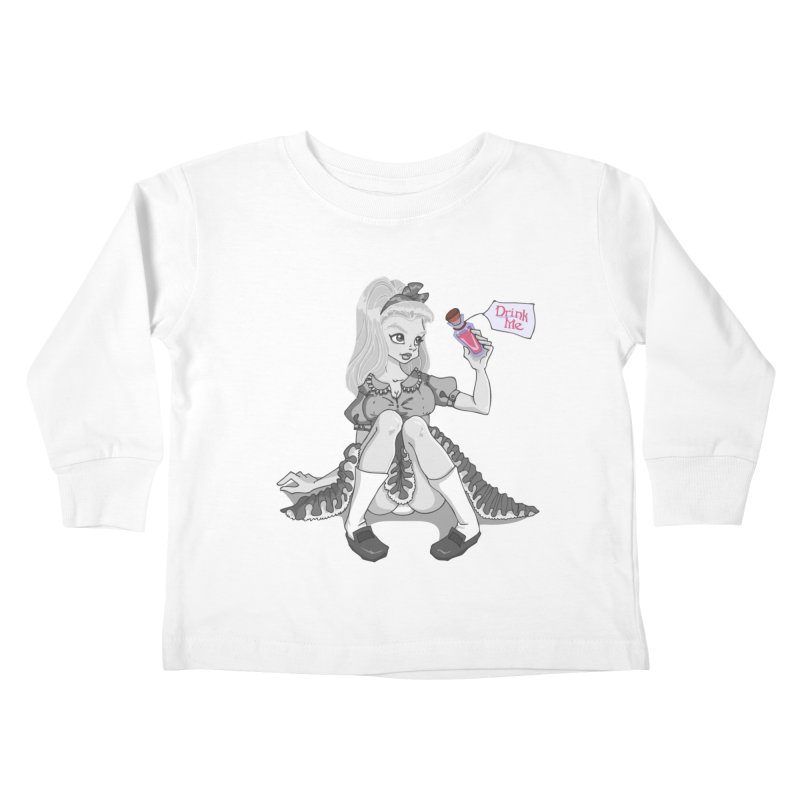 Alice Kids Toddler Longsleeve T-Shirt by anishacreations's Artist Shop