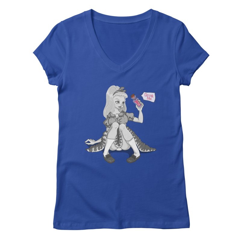 Alice Women's V-Neck by anishacreations's Artist Shop