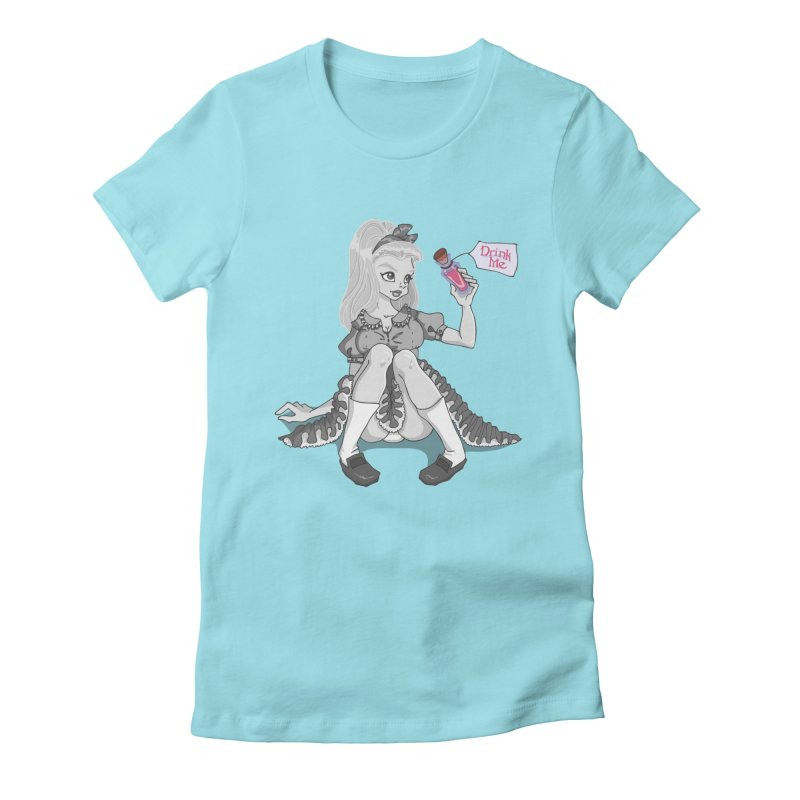 Alice Women's Fitted T-Shirt by anishacreations's Artist Shop