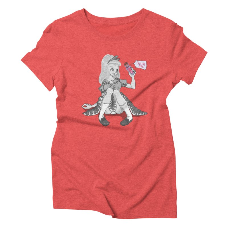 Alice Women's Triblend T-Shirt by anishacreations's Artist Shop