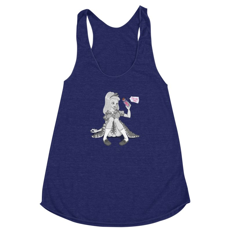 Alice Women's Racerback Triblend Tank by anishacreations's Artist Shop