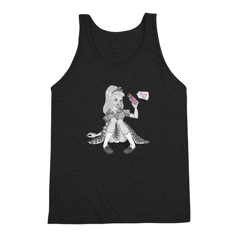 Alice Men's Triblend Tank by anishacreations's Artist Shop