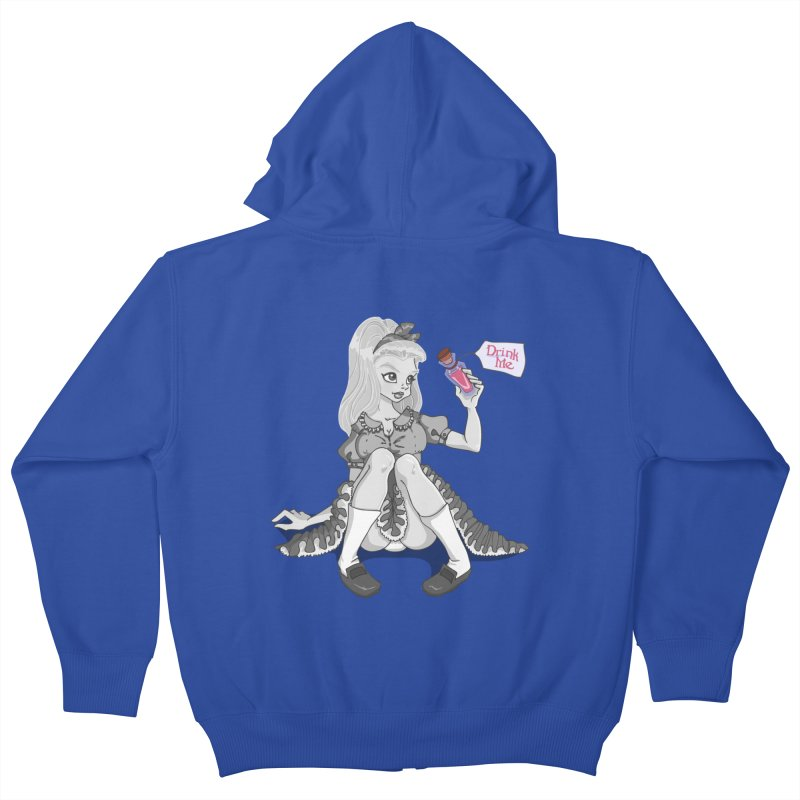 Alice Kids Zip-Up Hoody by anishacreations's Artist Shop