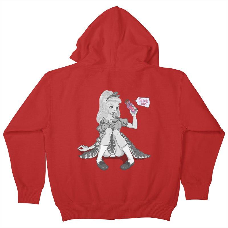 Alice Kids Zip-Up Hoody by anishacreations's Artist Shop