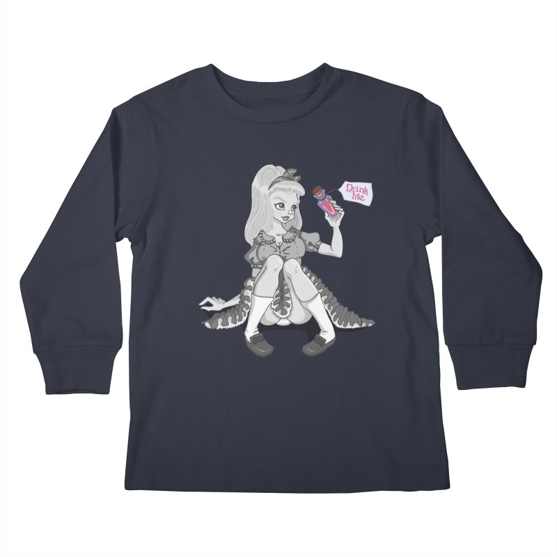 Alice Kids Longsleeve T-Shirt by anishacreations's Artist Shop