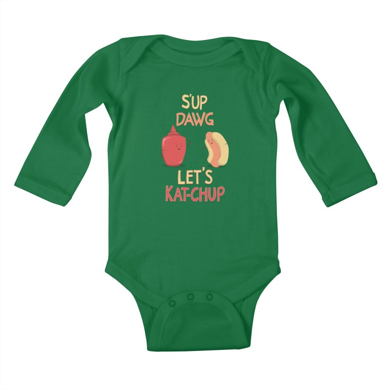 Good Old Friends! Kids Baby Longsleeve Bodysuit by anishacreations's Artist Shop