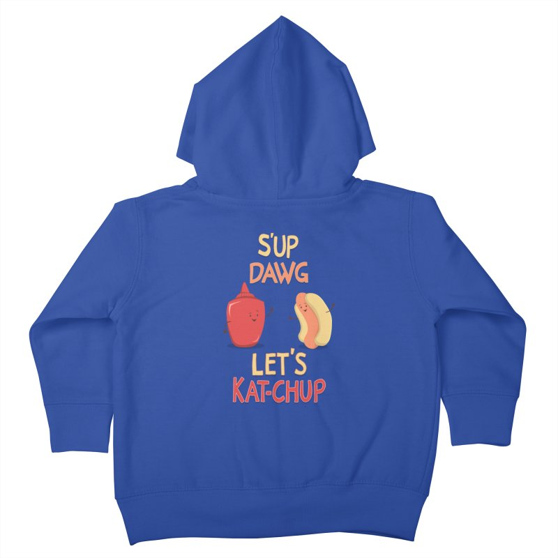 Good Old Friends! Kids Toddler Zip-Up Hoody by anishacreations's Artist Shop