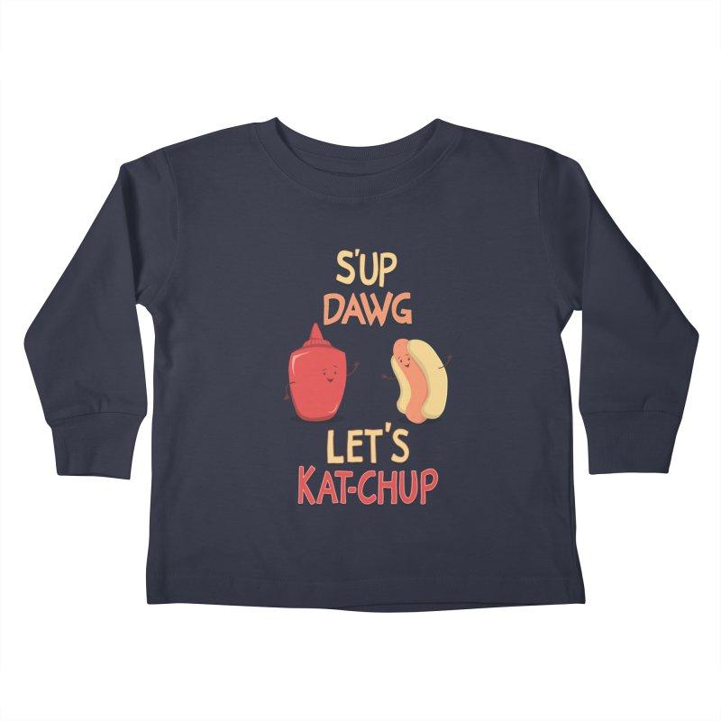 Good Old Friends! Kids Toddler Longsleeve T-Shirt by anishacreations's Artist Shop