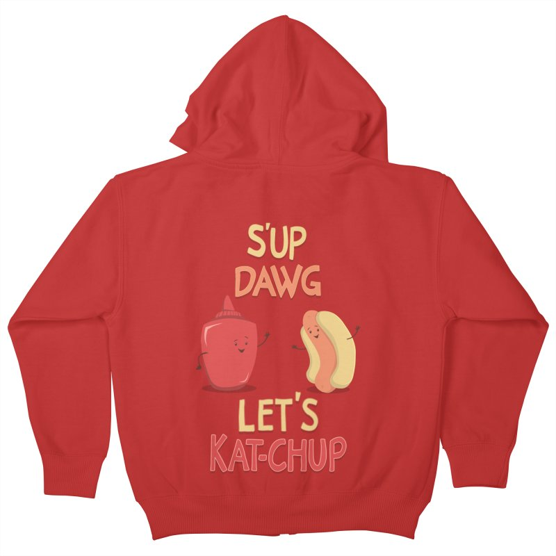 Good Old Friends! Kids Zip-Up Hoody by anishacreations's Artist Shop