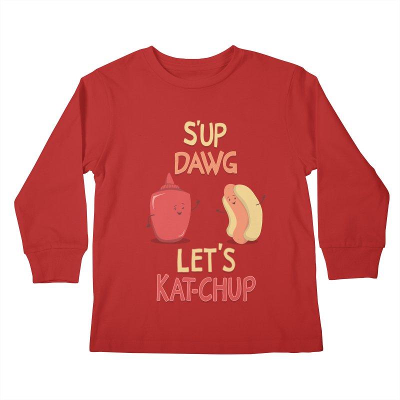 Good Old Friends! Kids Longsleeve T-Shirt by anishacreations's Artist Shop