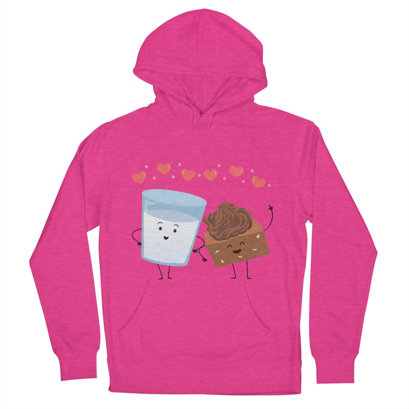 Brownie's BFF Women's French Terry Pullover Hoody by anishacreations's Artist Shop