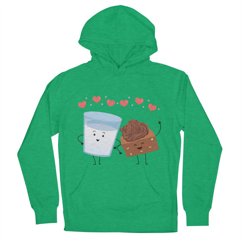 Brownie's BFF Men's French Terry Pullover Hoody by anishacreations's Artist Shop