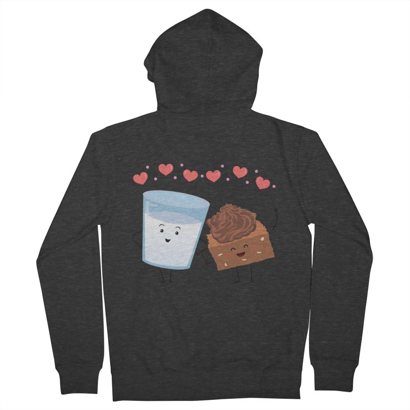 Brownie's BFF Women's French Terry Zip-Up Hoody by anishacreations's Artist Shop