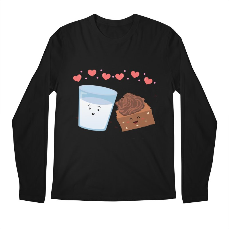 Brownie's BFF Men's Longsleeve T-Shirt by anishacreations's Artist Shop