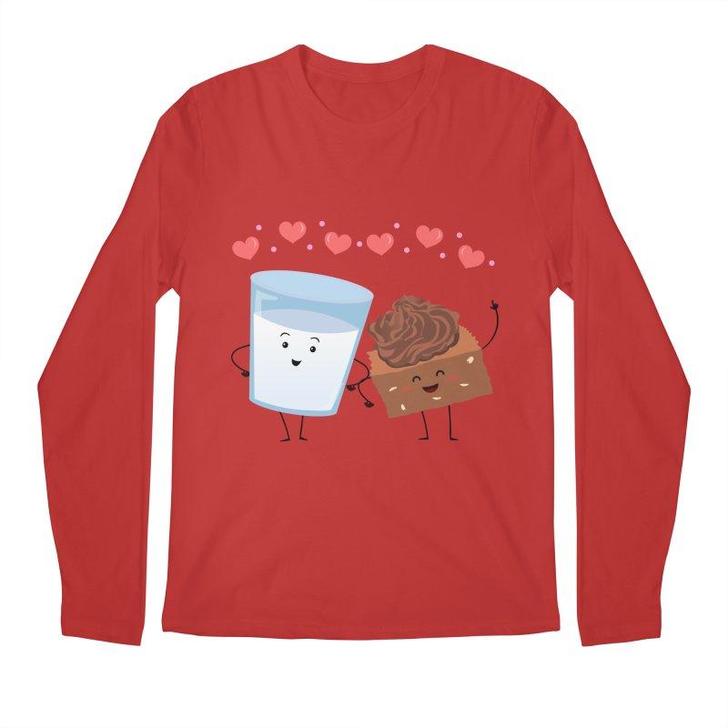 Brownie's BFF Men's Regular Longsleeve T-Shirt by anishacreations's Artist Shop