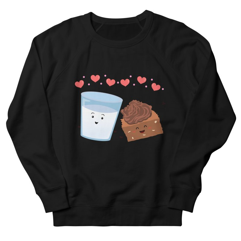 Brownie's BFF Women's French Terry Sweatshirt by anishacreations's Artist Shop