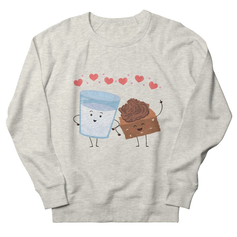 Brownie's BFF Men's French Terry Sweatshirt by anishacreations's Artist Shop
