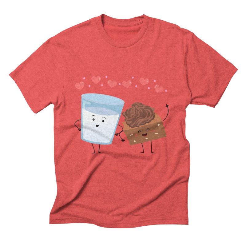 Brownie's BFF Men's Triblend T-Shirt by anishacreations's Artist Shop