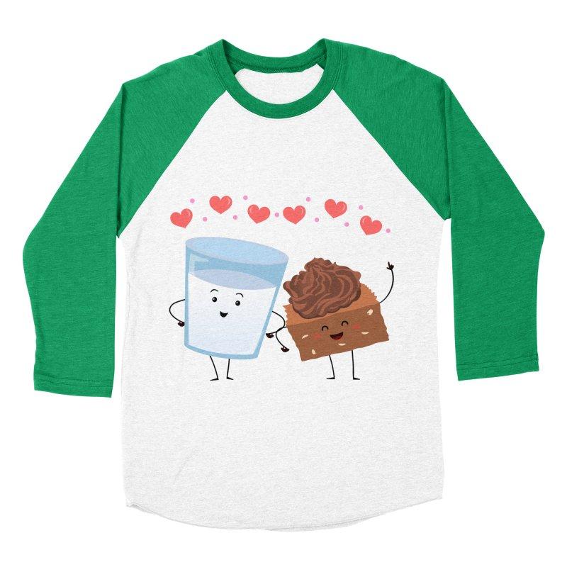 Brownie's BFF Women's Baseball Triblend Longsleeve T-Shirt by anishacreations's Artist Shop