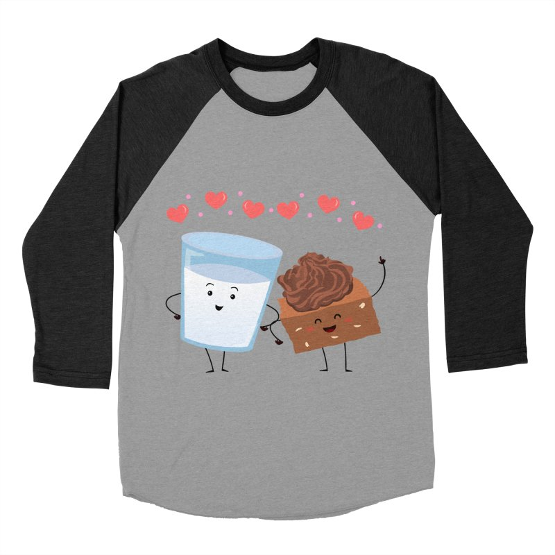 Brownie's BFF Women's Baseball Triblend Longsleeve T-Shirt by anishacreations's Artist Shop