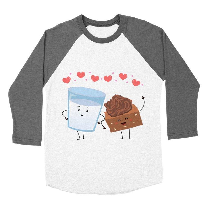 Brownie's BFF Men's Baseball Triblend Longsleeve T-Shirt by anishacreations's Artist Shop
