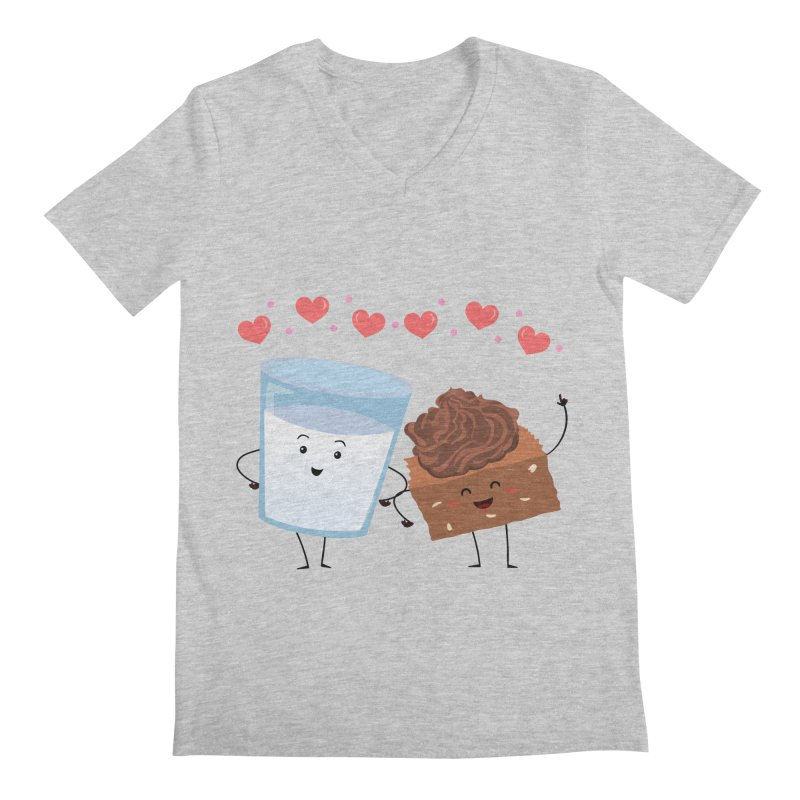 Brownie's BFF Men's V-Neck by anishacreations's Artist Shop