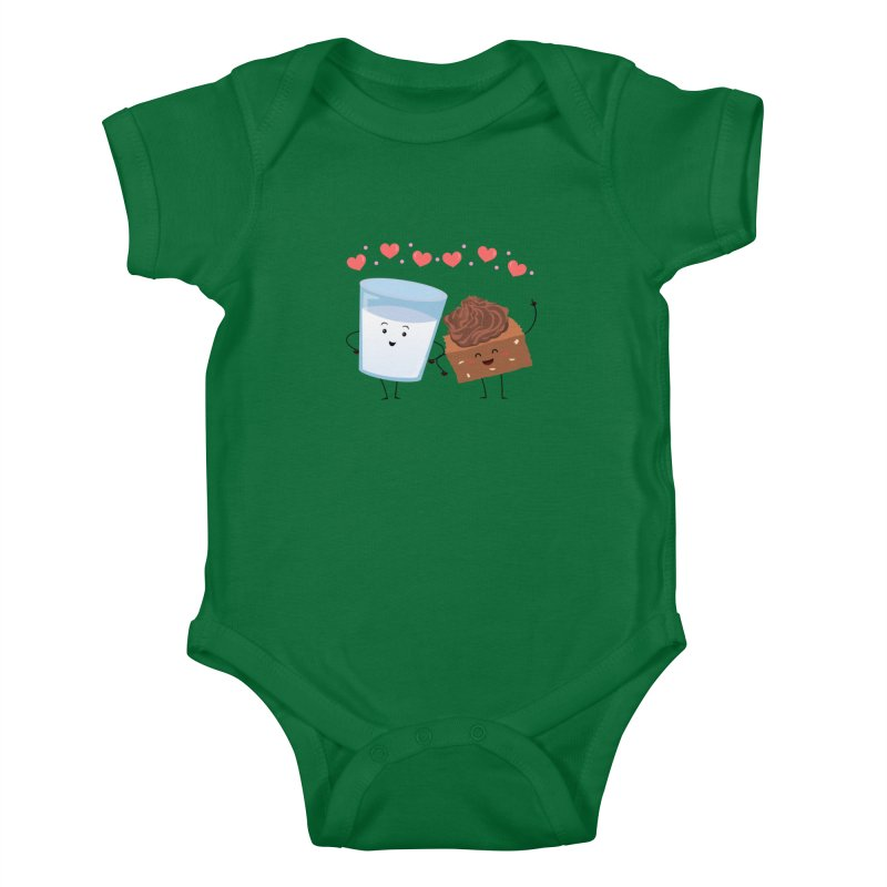 Brownie's BFF Kids Baby Bodysuit by anishacreations's Artist Shop