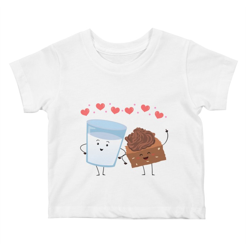 Brownie's BFF Kids Baby T-Shirt by anishacreations's Artist Shop