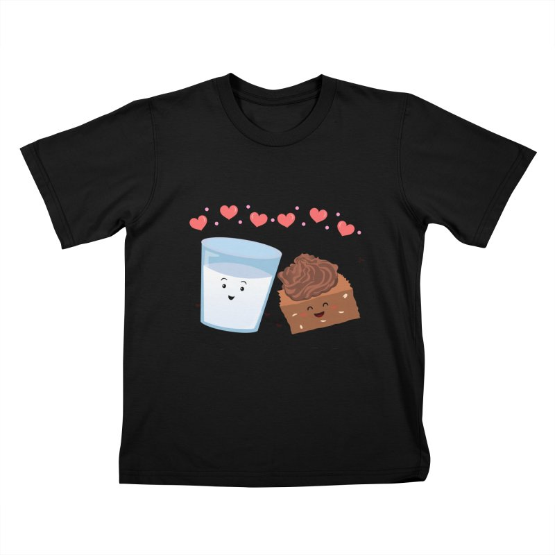 Brownie's BFF Kids T-shirt by anishacreations's Artist Shop