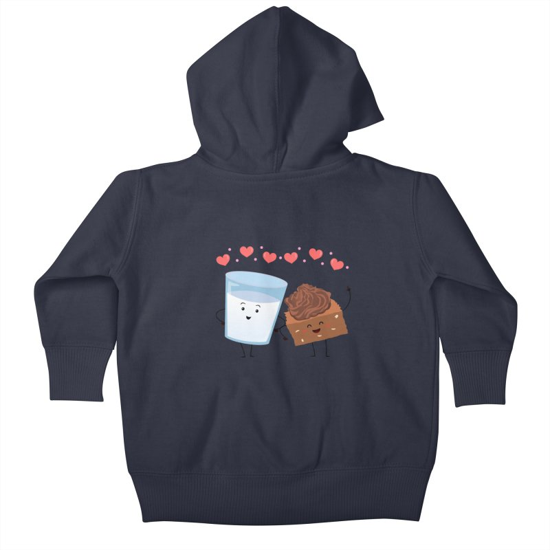 Brownie's BFF Kids Baby Zip-Up Hoody by anishacreations's Artist Shop