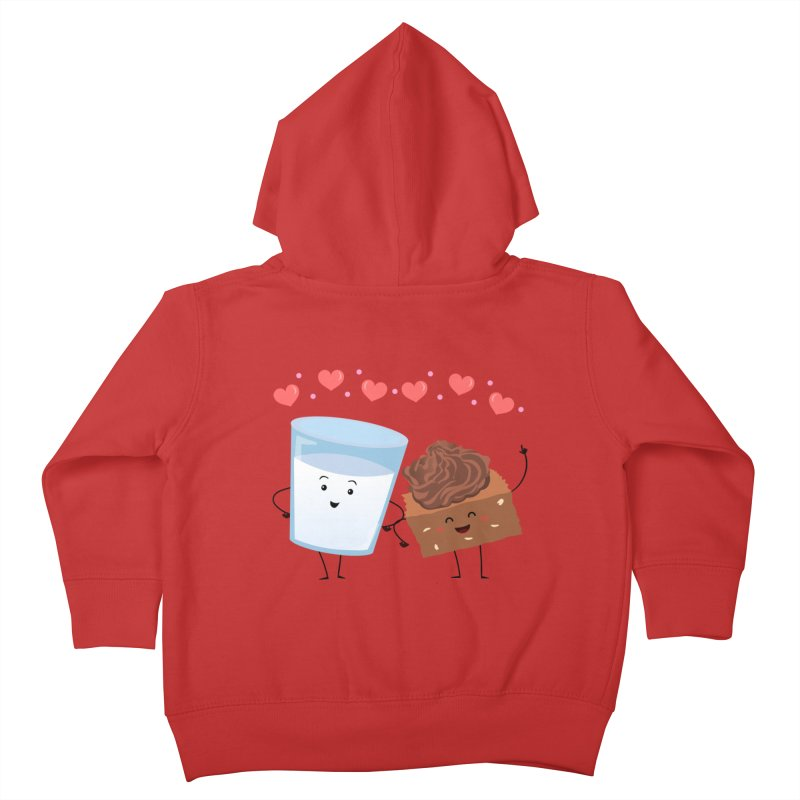 Brownie's BFF Kids Toddler Zip-Up Hoody by anishacreations's Artist Shop