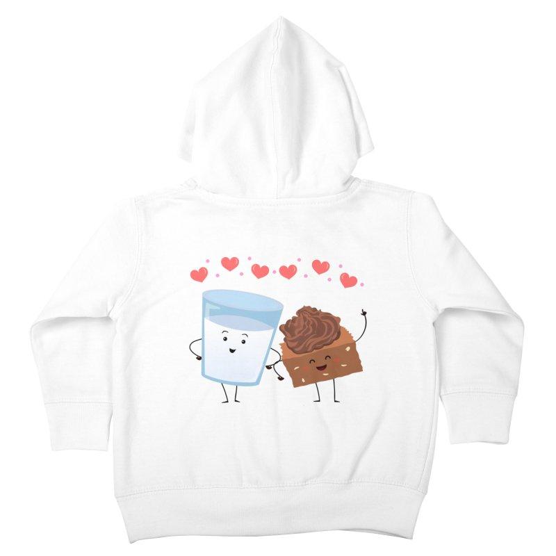 Brownie's BFF Kids Toddler Zip-Up Hoody by anishacreations's Artist Shop