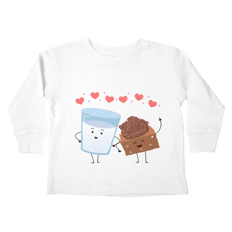 Brownie's BFF Kids Toddler Longsleeve T-Shirt by anishacreations's Artist Shop