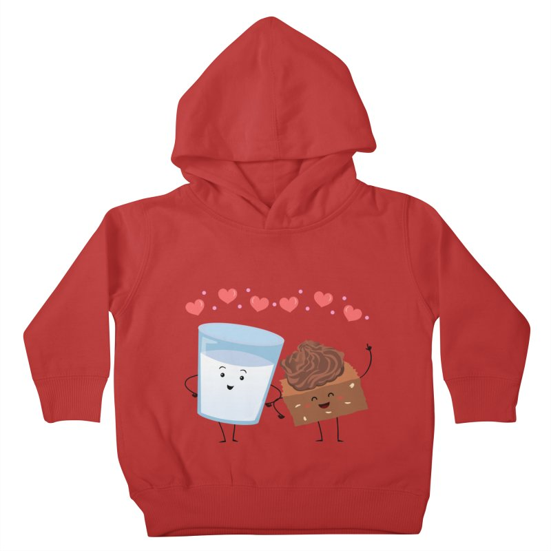 Brownie's BFF Kids Toddler Pullover Hoody by anishacreations's Artist Shop