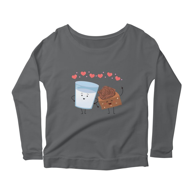 Brownie's BFF Women's Scoop Neck Longsleeve T-Shirt by anishacreations's Artist Shop