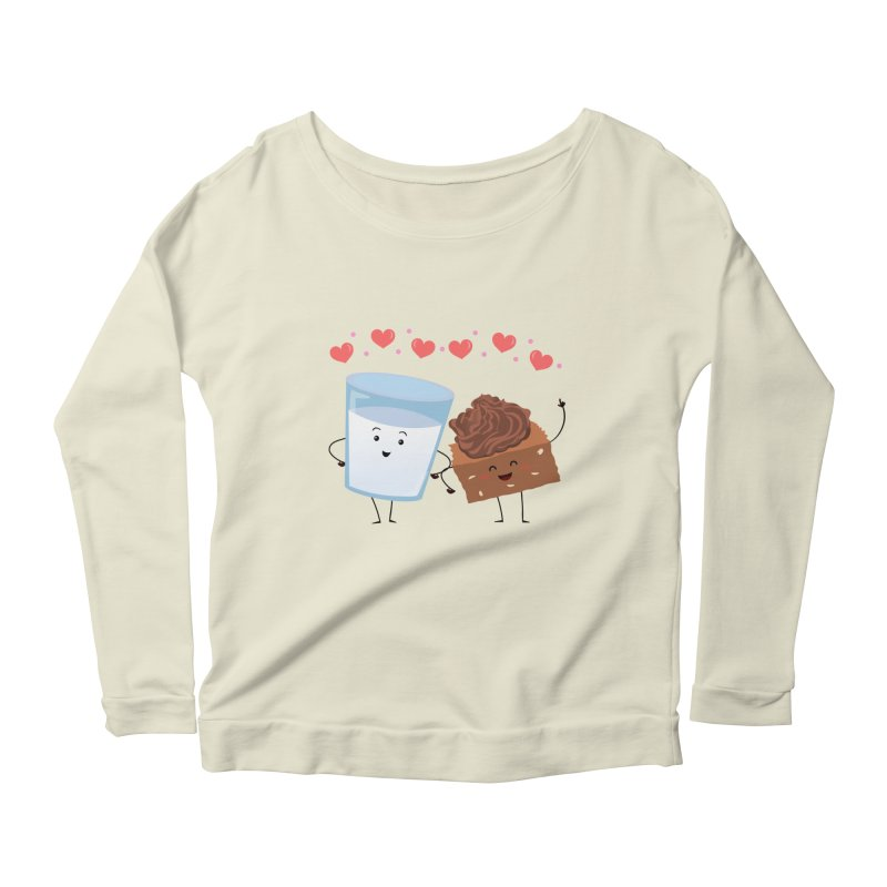 Brownie's BFF Women's Scoop Neck Longsleeve T-Shirt by anishacreations's Artist Shop