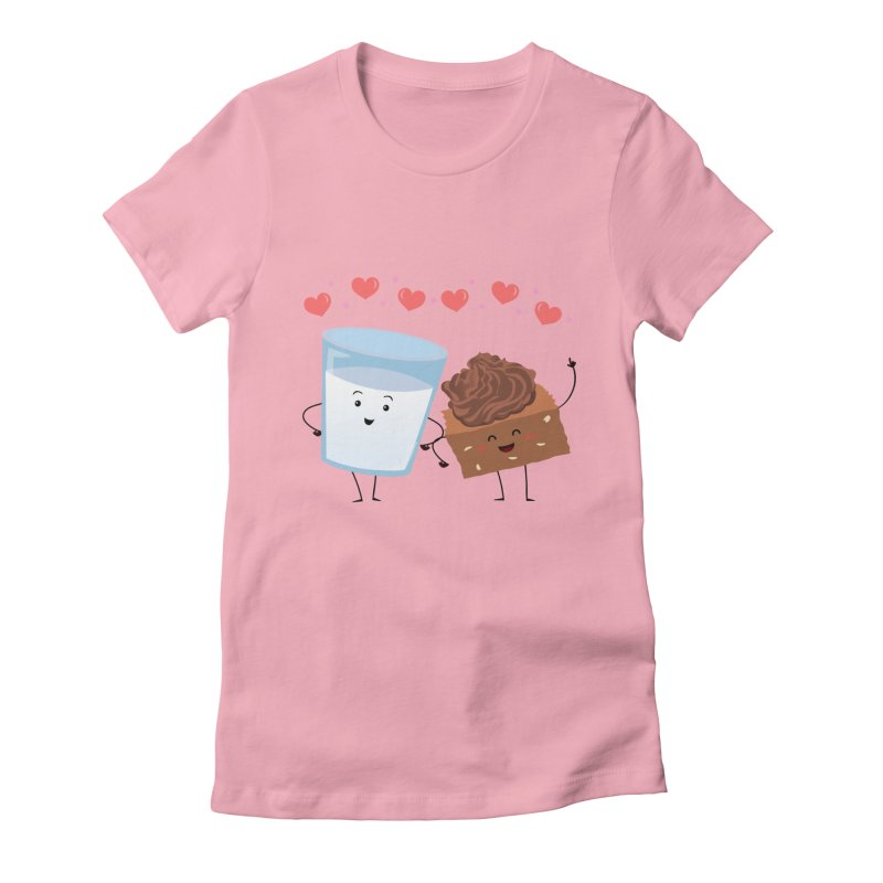 Brownie's BFF Women's Fitted T-Shirt by anishacreations's Artist Shop