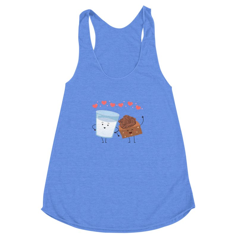 Brownie's BFF Women's Racerback Triblend Tank by anishacreations's Artist Shop