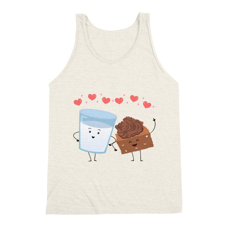 Brownie's BFF Men's Triblend Tank by anishacreations's Artist Shop