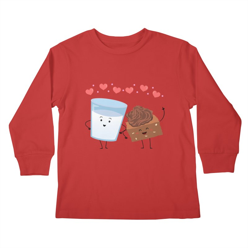 Brownie's BFF Kids Longsleeve T-Shirt by anishacreations's Artist Shop