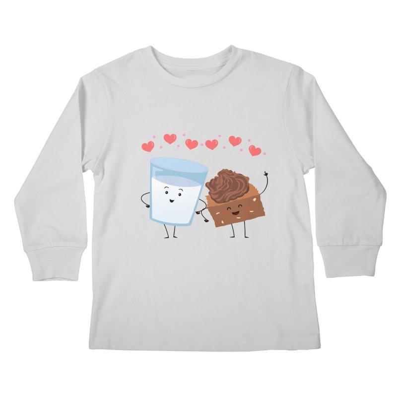 Brownie's BFF Kids Longsleeve T-Shirt by anishacreations's Artist Shop