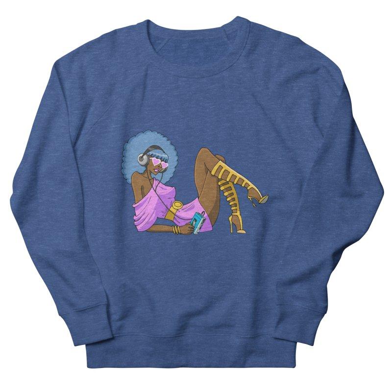 Funky Retro Girl Women's Sweatshirt by anishacreations's Artist Shop
