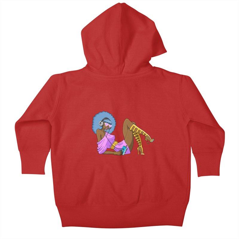 Funky Retro Girl   by anishacreations's Artist Shop