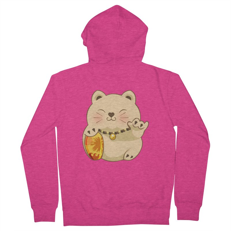 Lucky Shaka Women's French Terry Zip-Up Hoody by anishacreations's Artist Shop