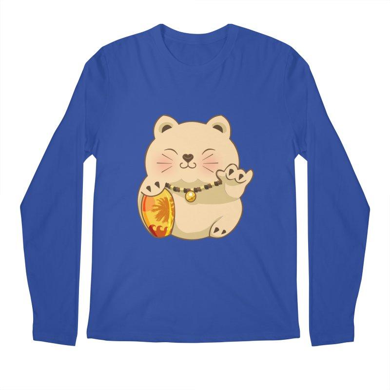 Lucky Shaka Men's Regular Longsleeve T-Shirt by anishacreations's Artist Shop