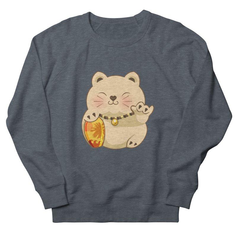 Lucky Shaka Men's French Terry Sweatshirt by anishacreations's Artist Shop