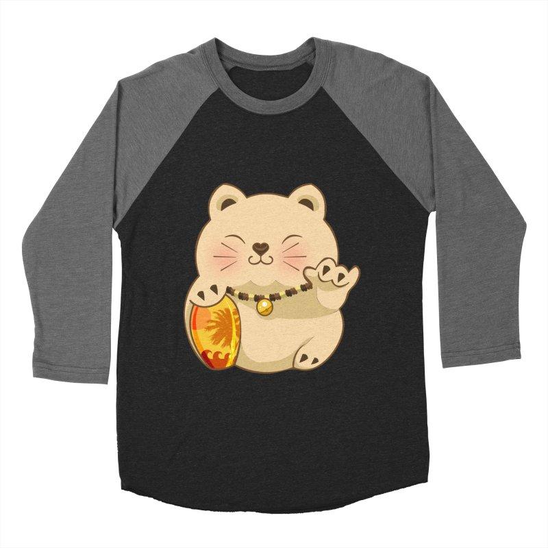 Lucky Shaka Women's Baseball Triblend T-Shirt by anishacreations's Artist Shop