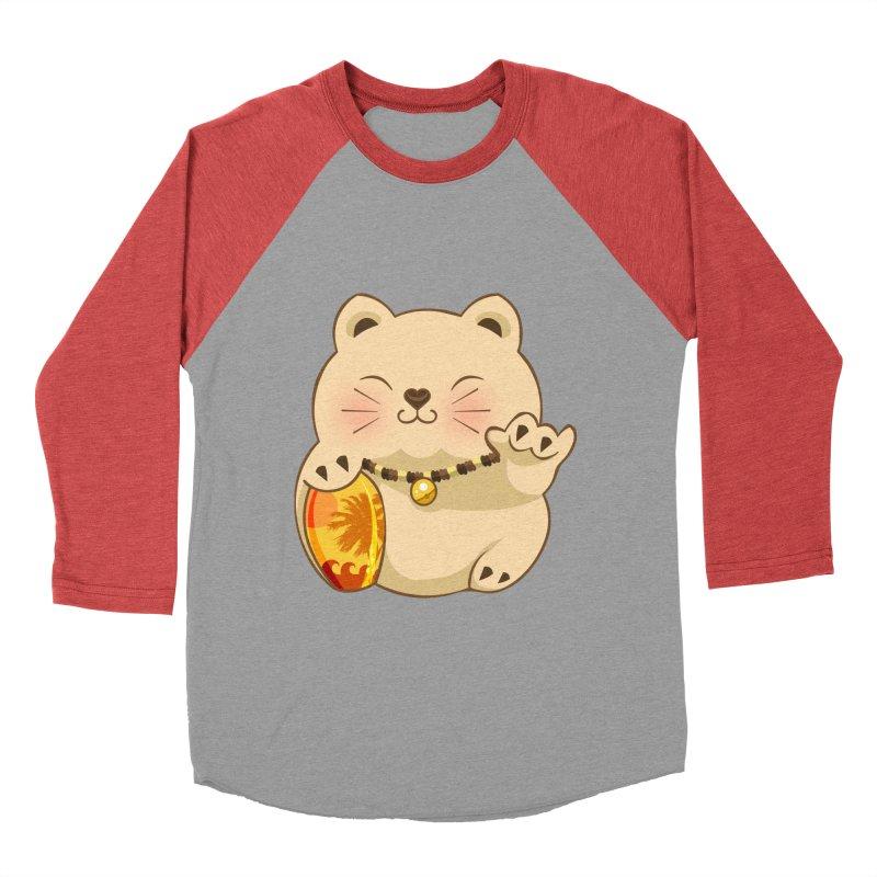 Lucky Shaka Men's Baseball Triblend Longsleeve T-Shirt by anishacreations's Artist Shop